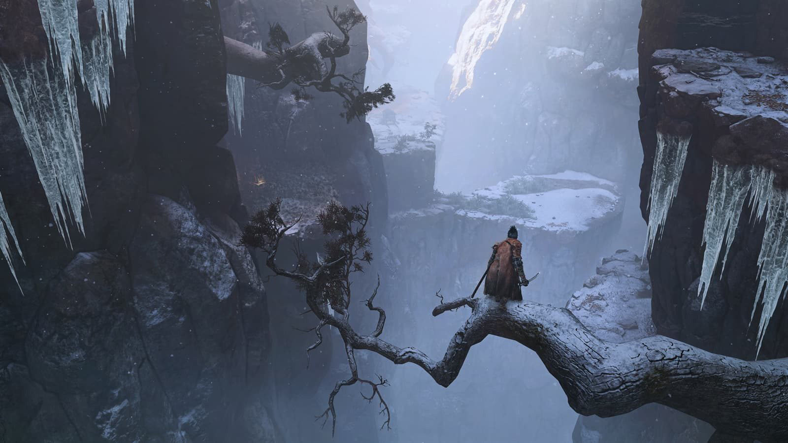 From Software spends some time breaking down why Sekiro isn't Dark Souls screenshot
