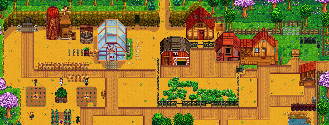 Someone made an easily digestible Stardew Valley guide