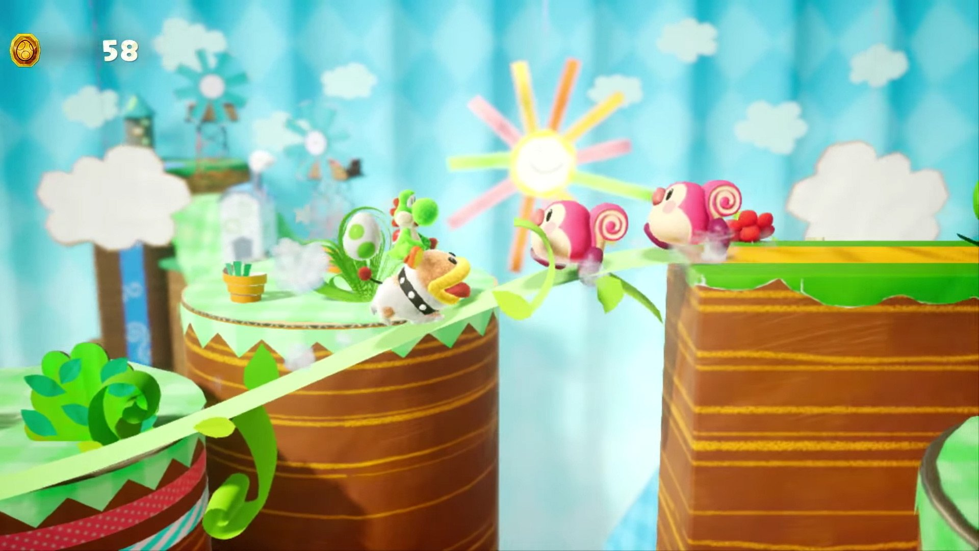 Yoshi's Crafted World and Kirby's Extra Epic Yarn are both out in March screenshot