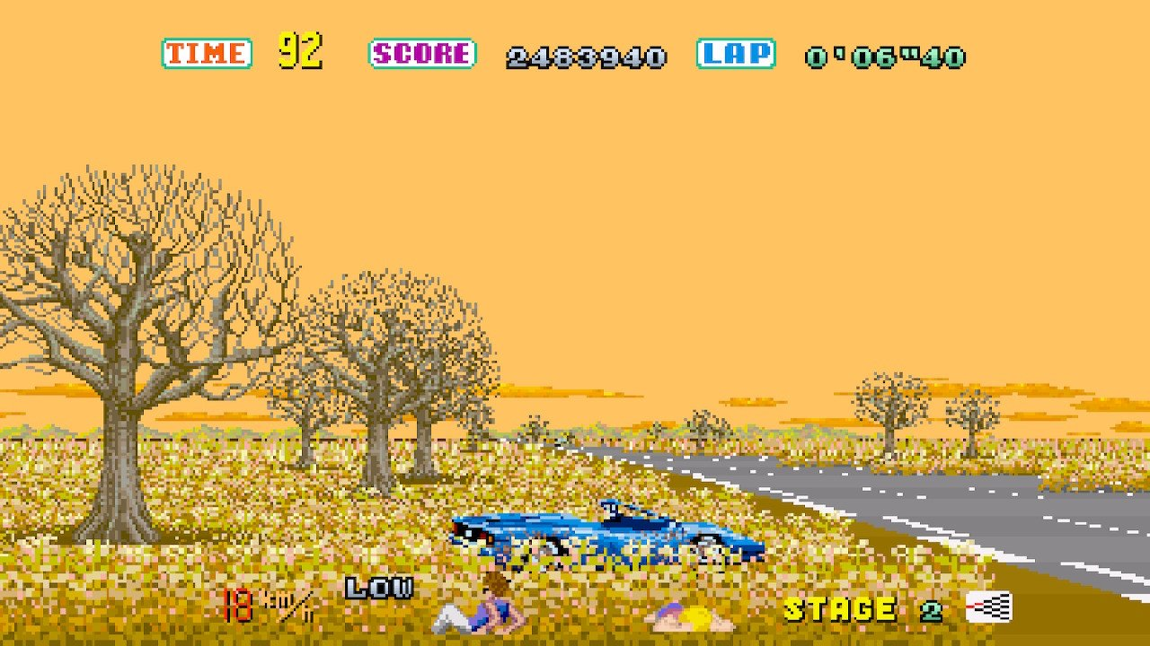 Review: Sega Ages Out Run screenshot