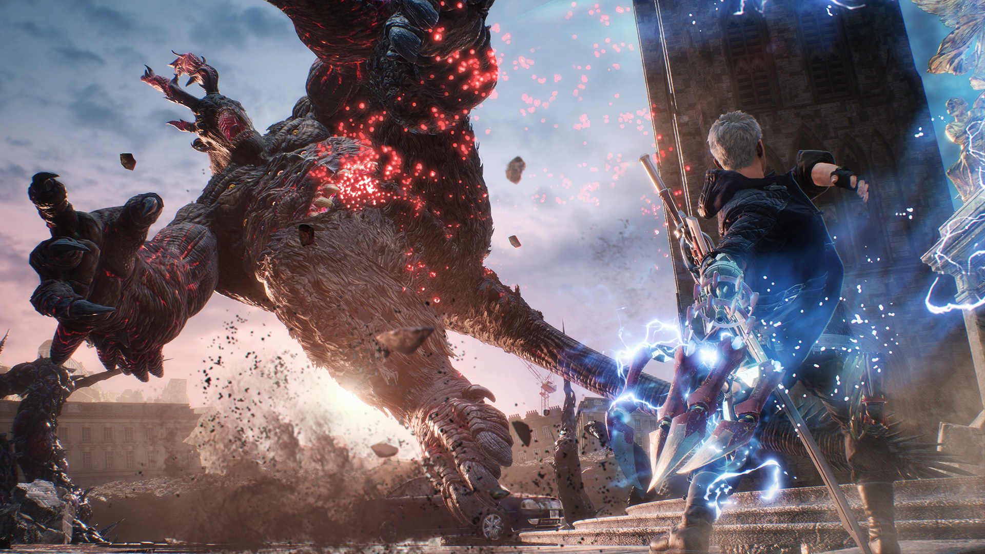 Devil May Cry 5 director talks game length, visual style and where it fits on the timeline screenshot