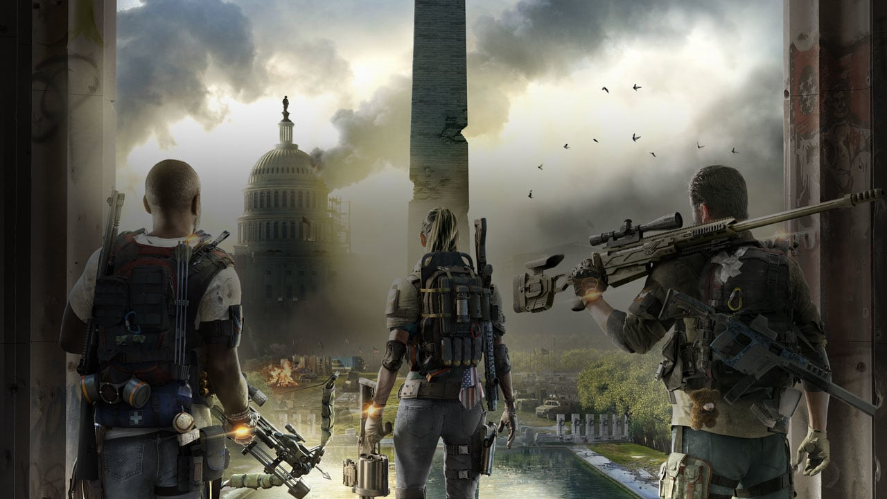 The Division 2's PC specs reveal options for uncapped frame rates and resolutions screenshot