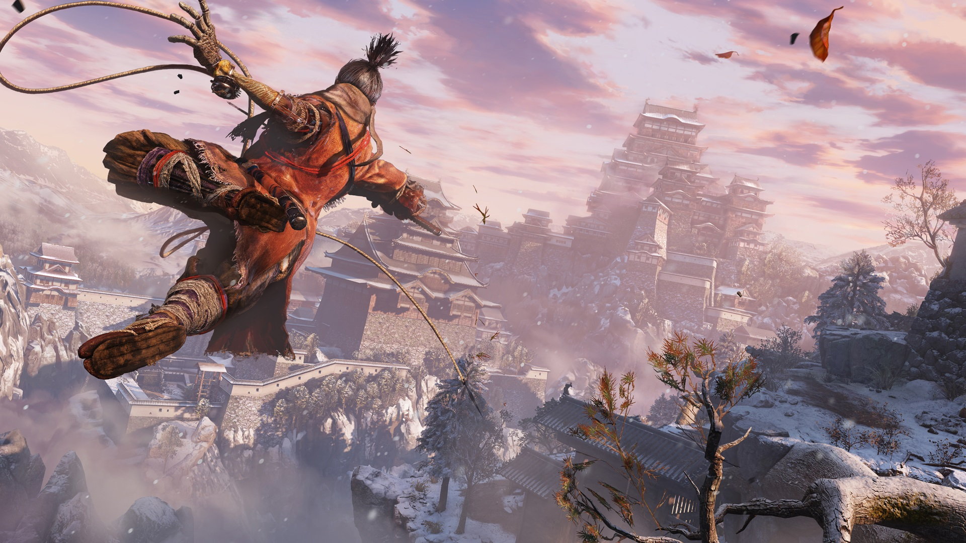 Sekiro: Shadows Die Twice will be 'on the higher end of spectrum of freedom' compared to previous From efforts screenshot