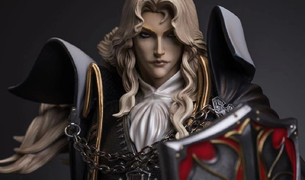 Lavish Castlevania Alucard statue coming from Gantaku screenshot