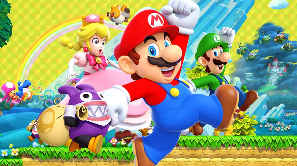 New Super Mario Bros. U Deluxe leaps to the top of the UK Charts screenshot