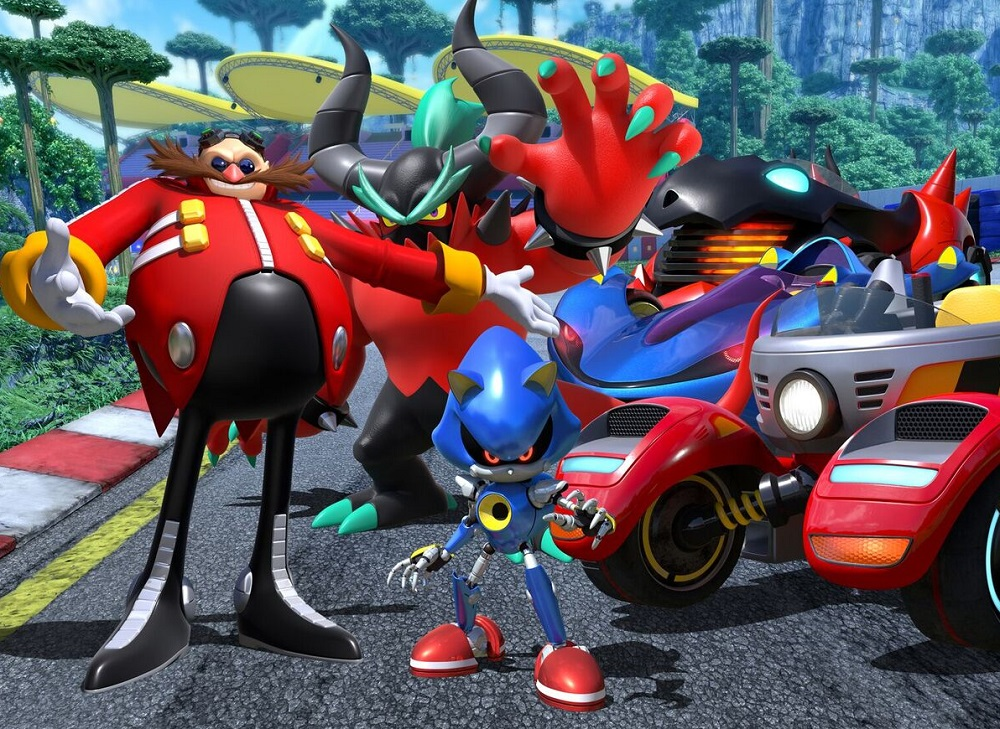 Team Sonic Racing reveals Dr. Robotnik, Metal Sonic and Zavok screenshot