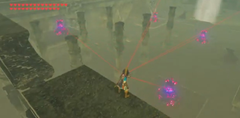 This Zelda: Breath of the Wild clip is basically straight out of an anime screenshot