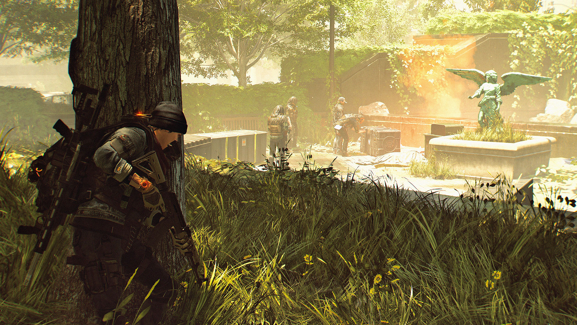 The Division 2's Dark Zone is smaller than its predecessor's screenshot