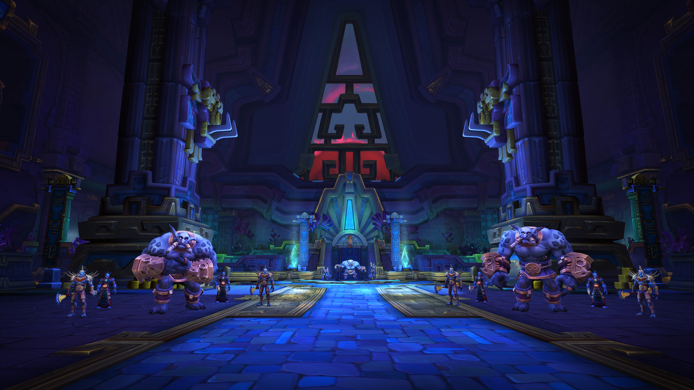 Battle of Dazar'alor and Mythic+ Season 2 now live in World of Warcraft screenshot