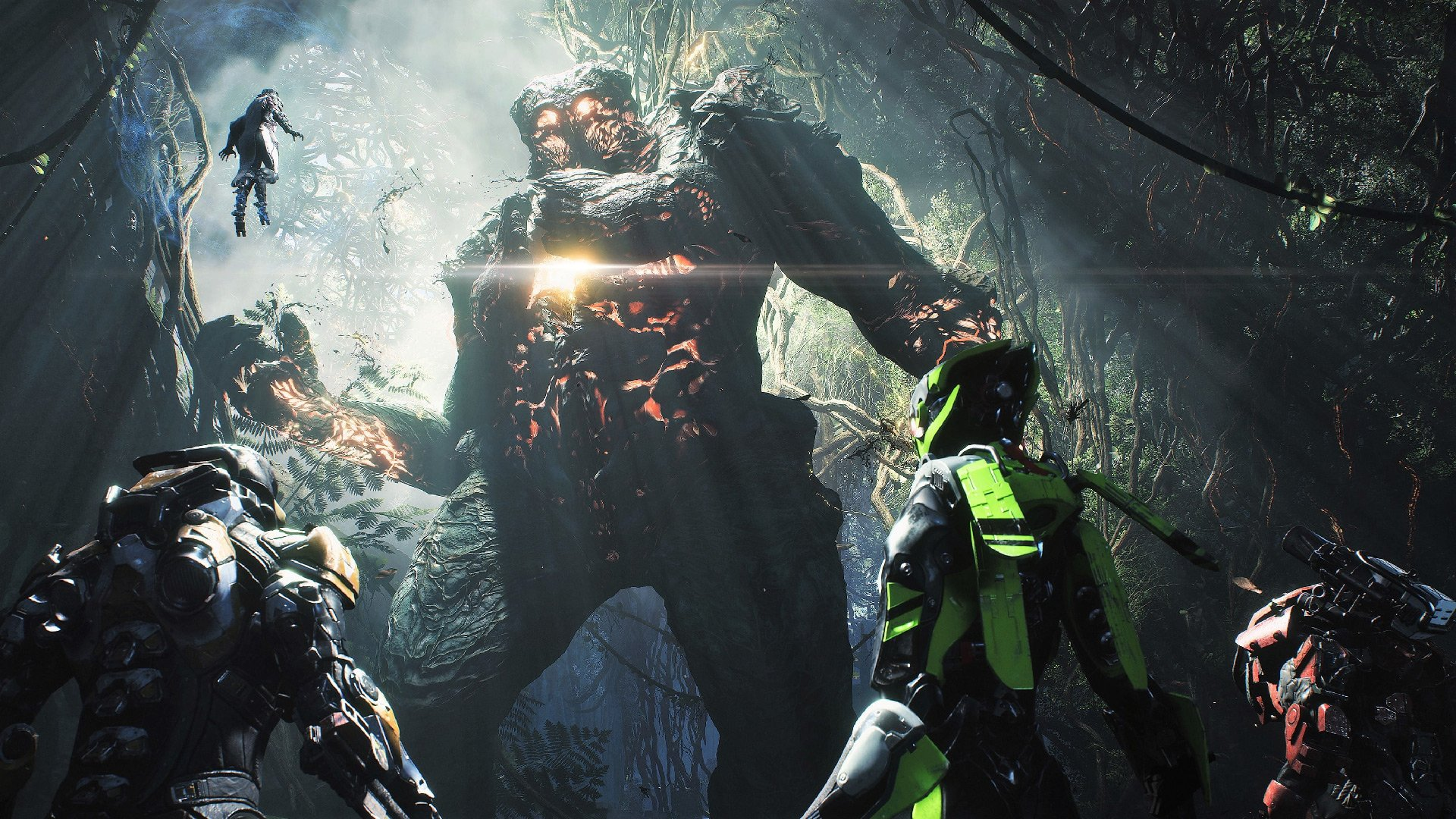 Anthem demo pre-loading is underway ahead of Friday's roll-out screenshot