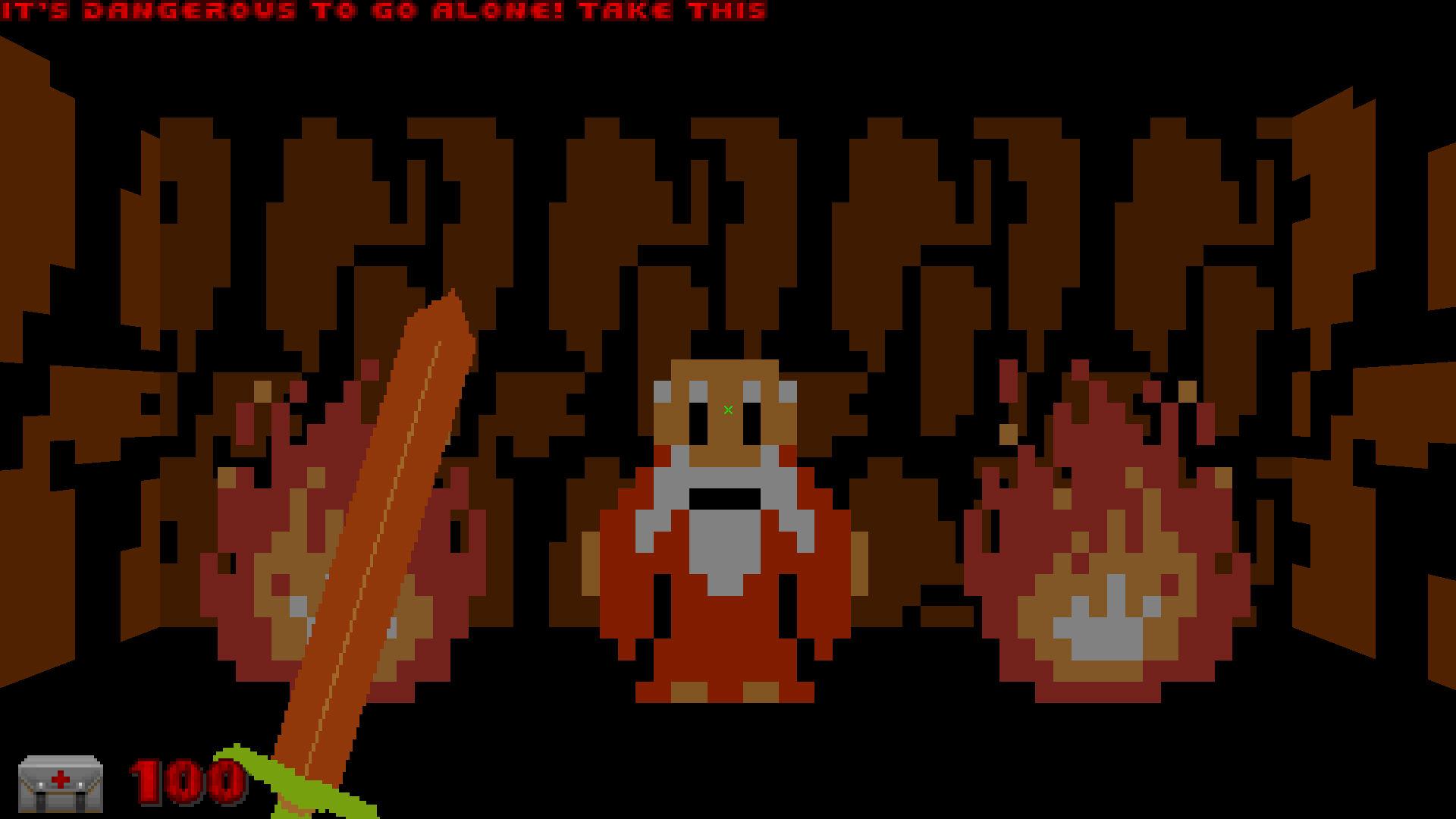 NES Zelda in a Doom mod? Sure, I'll take it