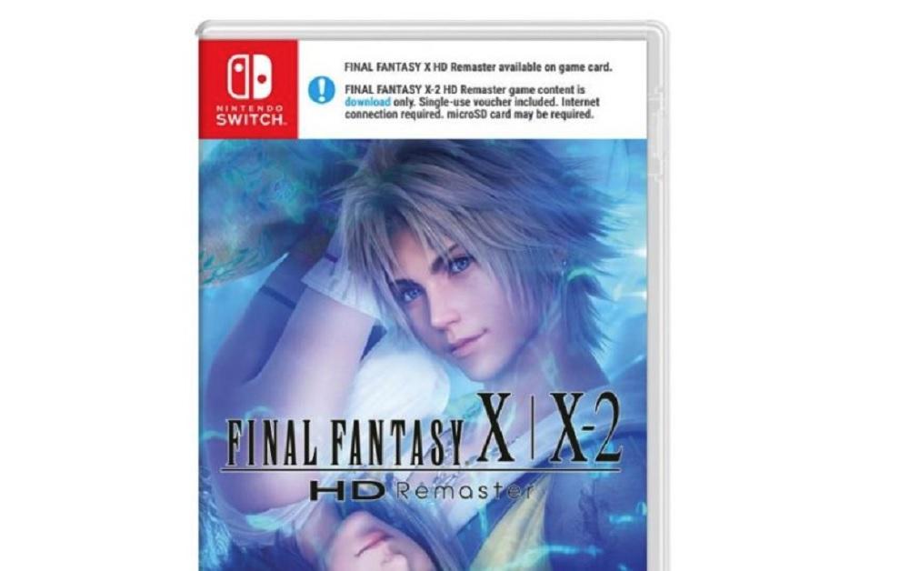 Final Fantasy X's beautiful Switch box art plagued by gross warning banner in Europe screenshot