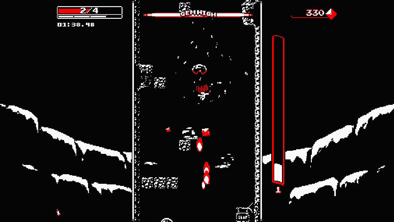 Downwell is a must-play on Switch even for double dippers screenshot