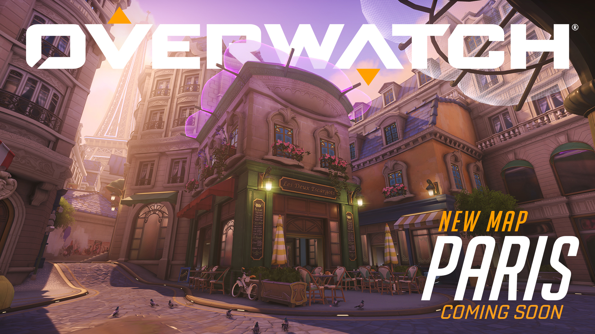 New Overwatch map Paris playable on the PTR screenshot