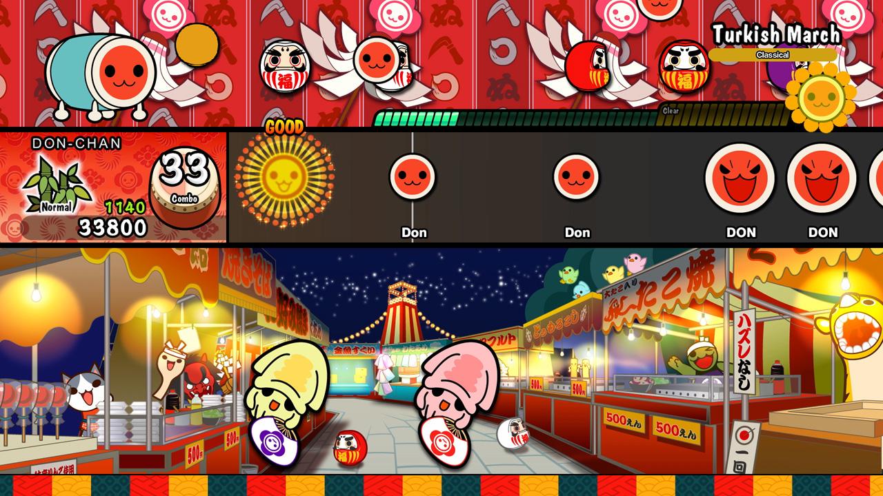 Taiko no Tatsujin: Drum 'n' Fun is getting Pokemon DLC screenshot