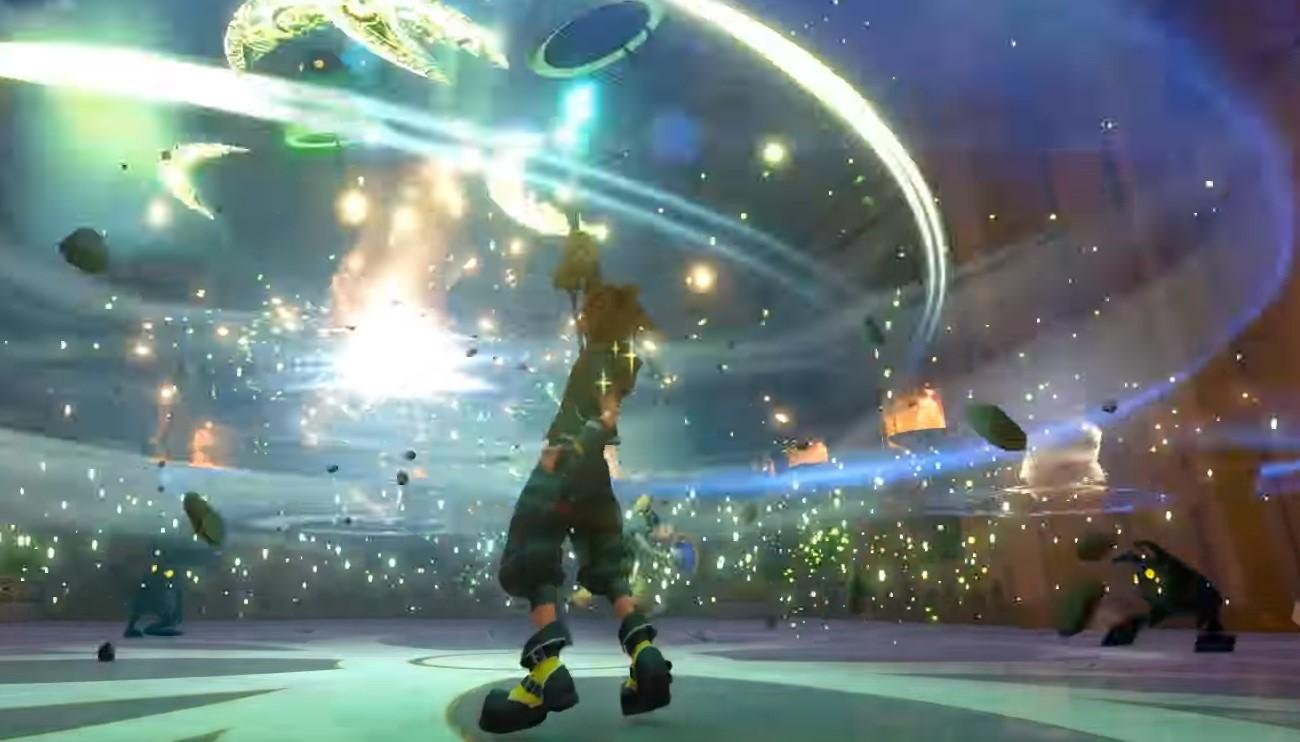 Kingdom Hearts III's shortcut menu upgrade is great screenshot