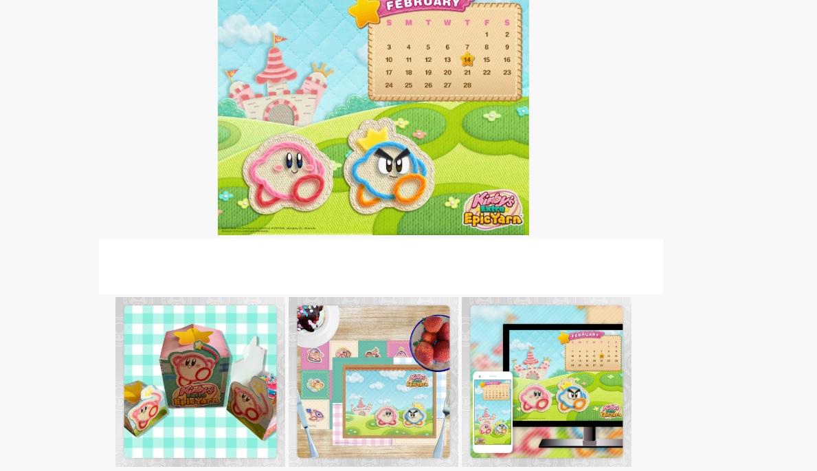 Kirby's Epic Yarn is taking over My Nintendo screenshot