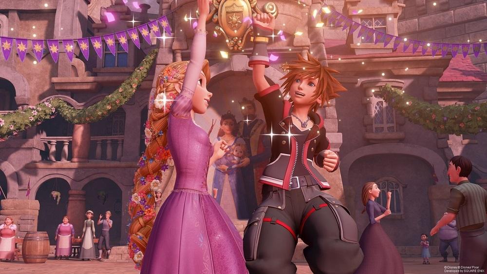 Kingdom Hearts III dethrones Resident Evil 2 in UK Charts screenshot