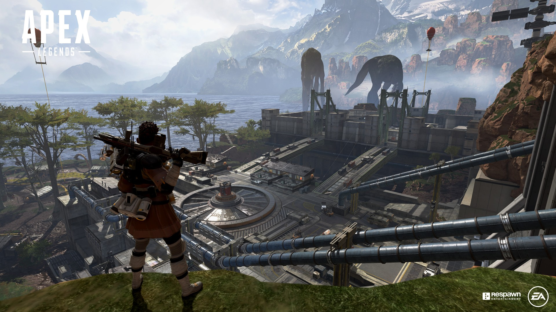 Apex Legends, the new battle royale from the Titanfall team, is free to play and out now screenshot