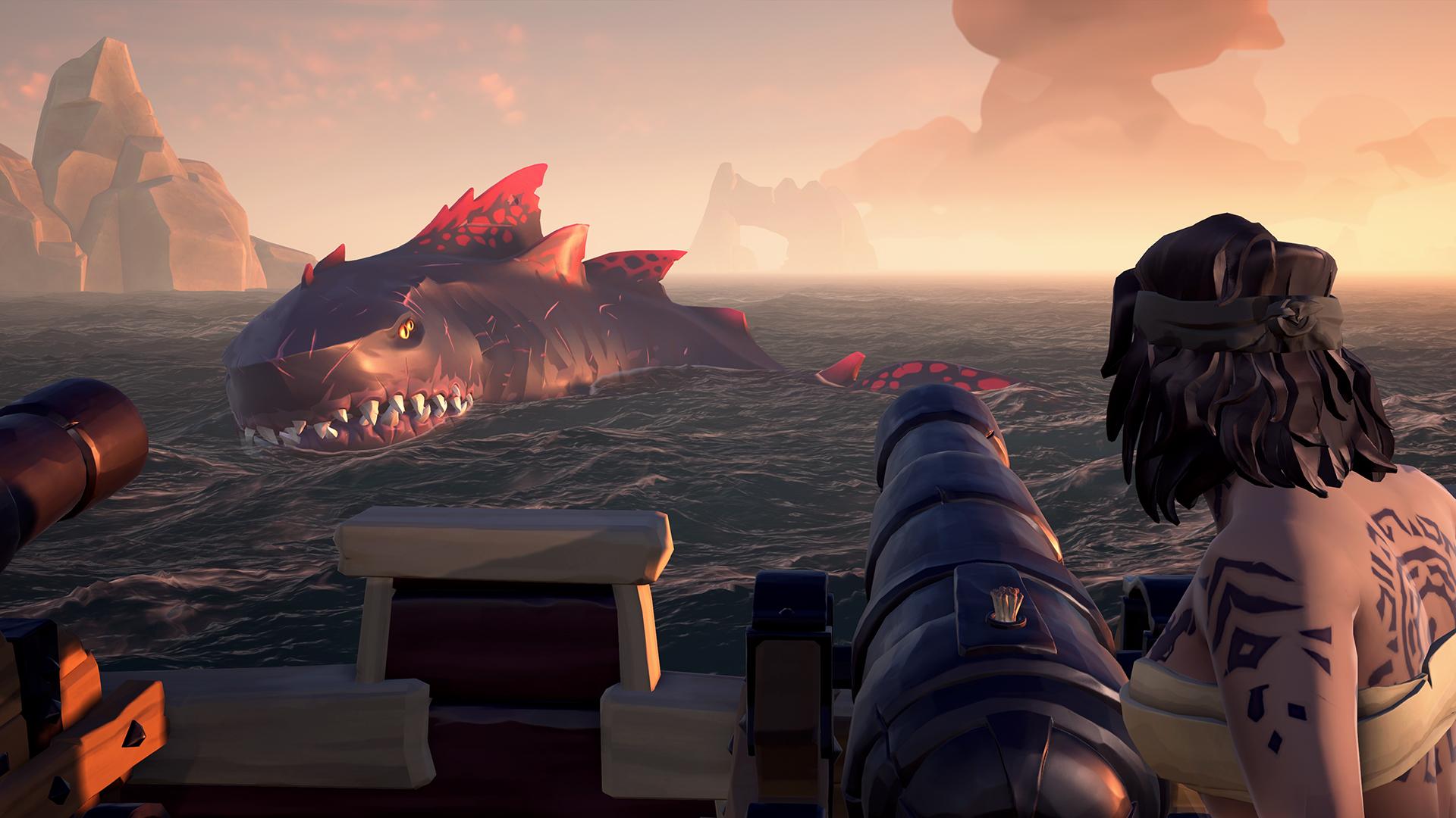 Sea of Thieves launching 'friends play free' promo screenshot