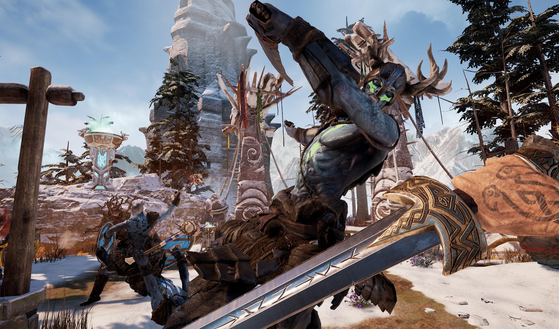Asgard's Wrath is a 30-hour mythological action-RPG romp for Oculus Rift screenshot