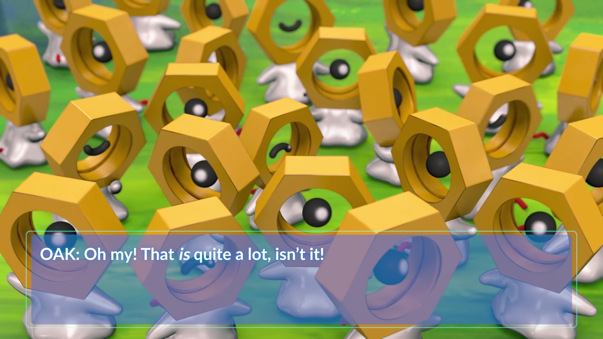 Pokemon Go has unleashed shiny Meltan screenshot