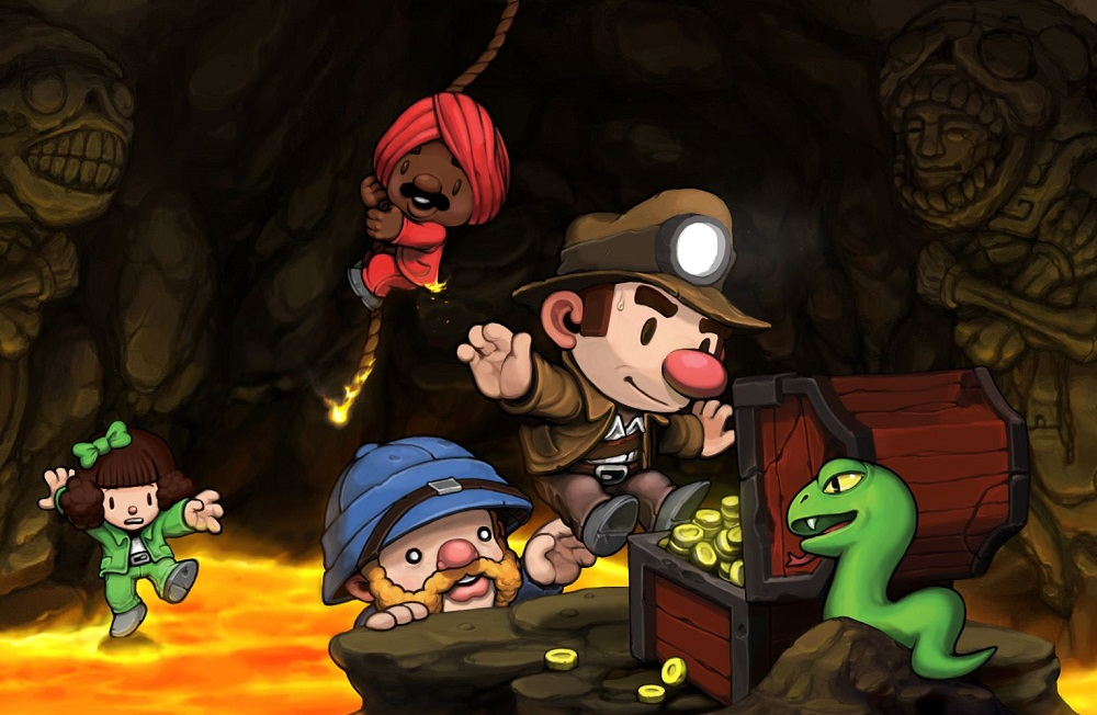 Pre-orders for physical edition of Spelunky open this week screenshot