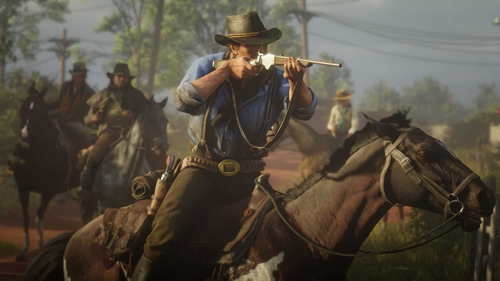 Red Dead Redemption 2 ships 23 million units for Take-Two screenshot
