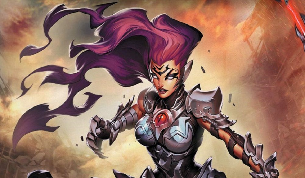 The Art of Darksiders hardback trilogy lets you get your goth on screenshot