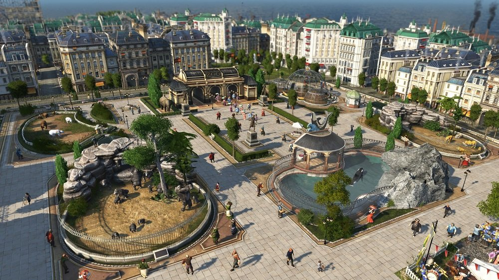 City-builder Anno 1800 is getting an open beta in April screenshot