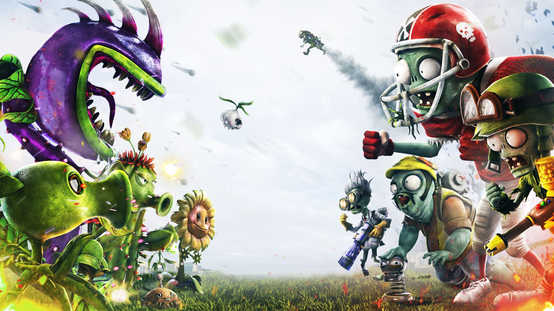 Plants vs. Zombies: Garden Warfare 2 is getting the first game's best map screenshot