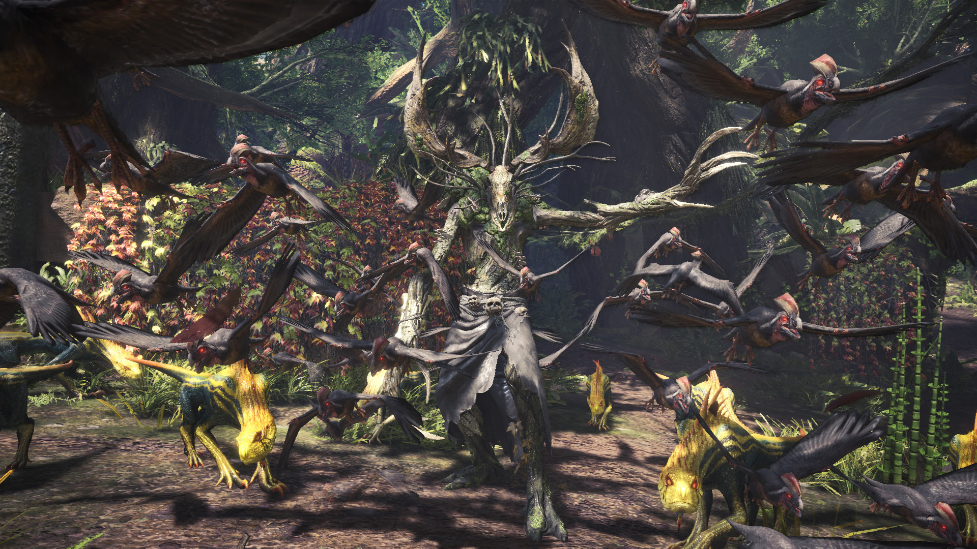 The Witcher quest just dropped in Monster Hunter: World screenshot