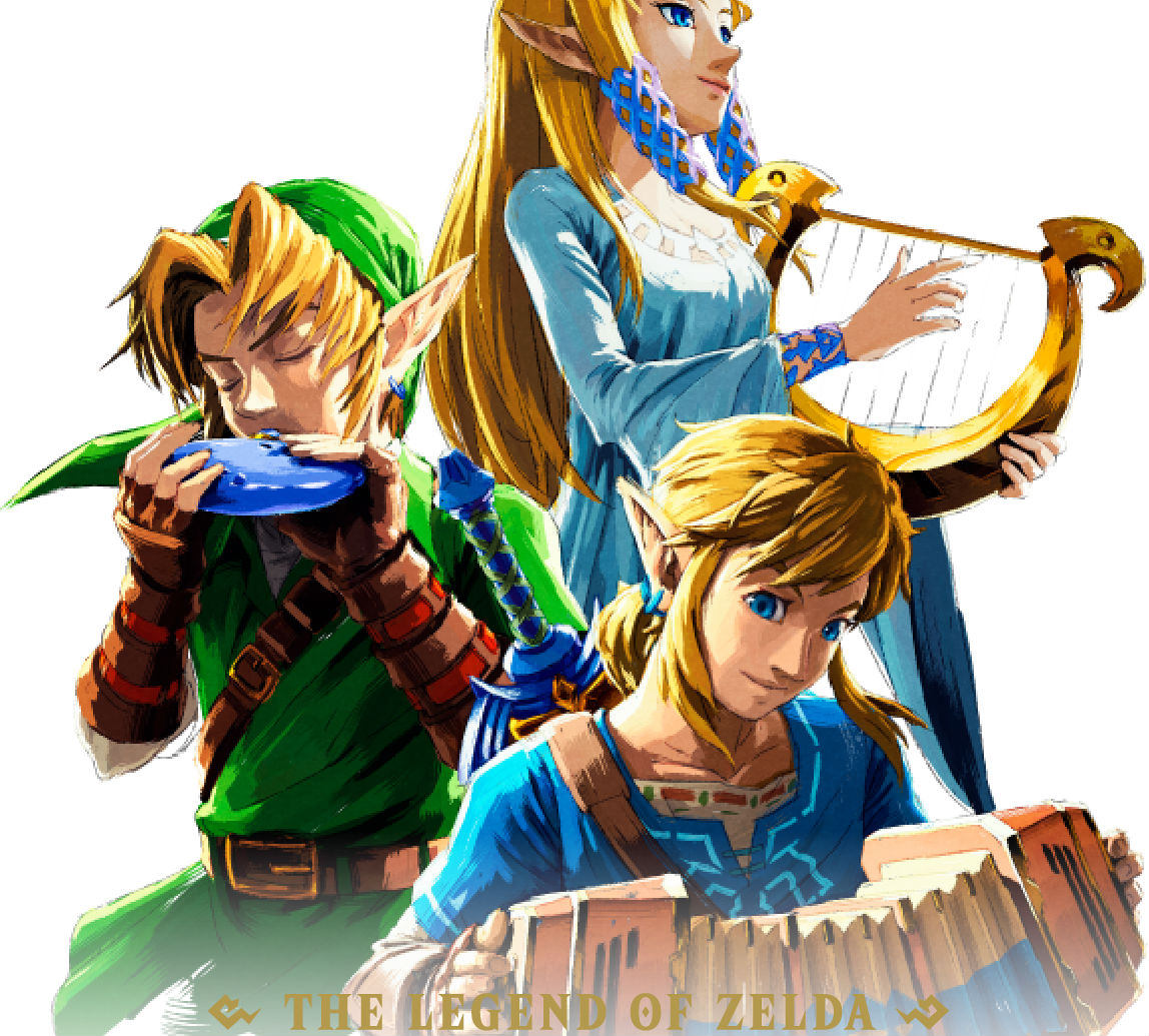 The Zelda Concert 2018 album is looking pretty fresh screenshot