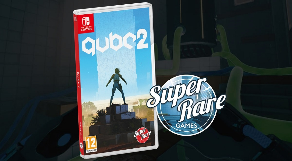 Celebrate QUBE 2 getting a Super Rare Games release by winning Knights of Pen and Paper Double Pack screenshot