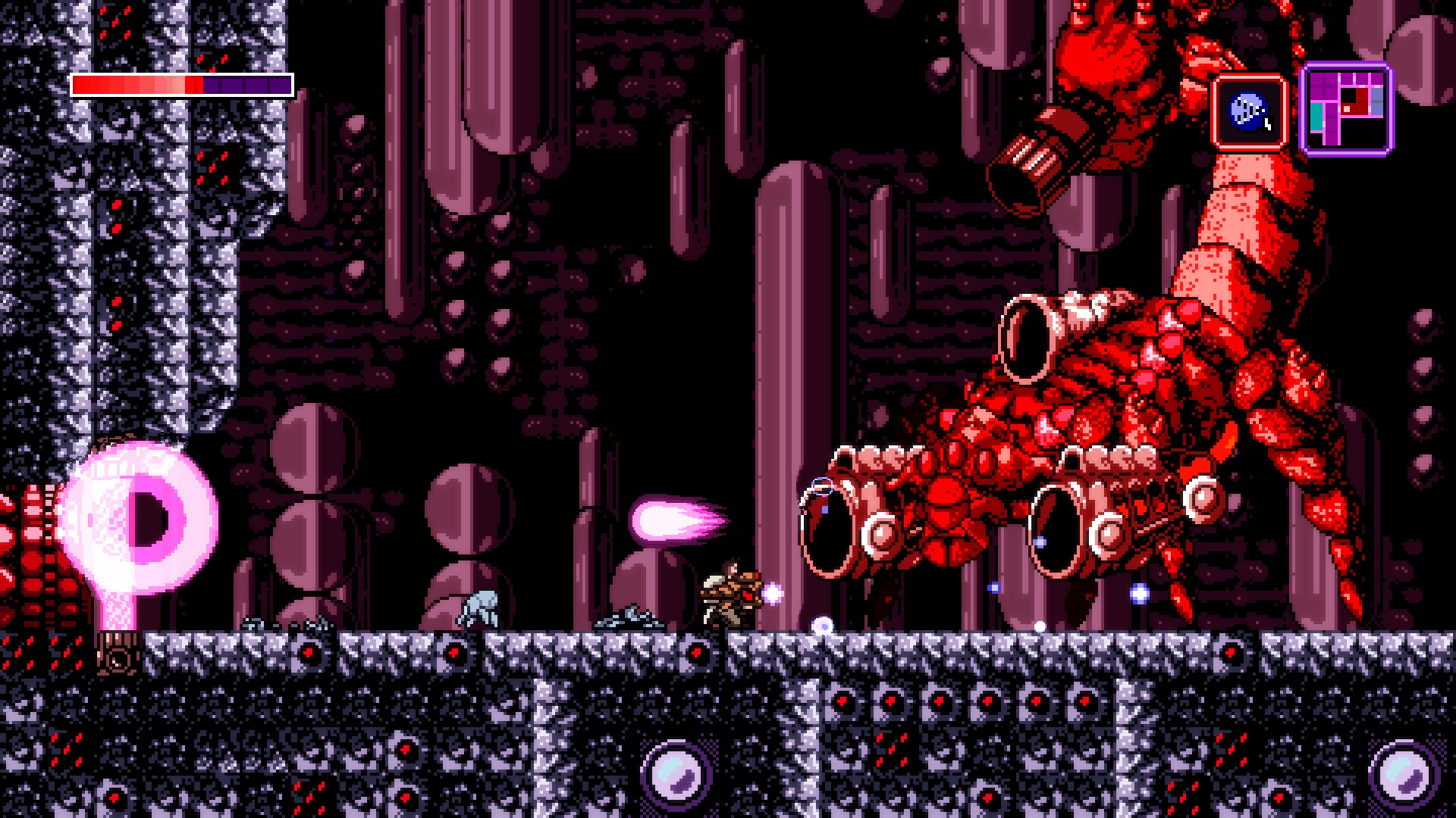 Axiom Verge had a small issue causing crashes on Epic Games' store screenshot
