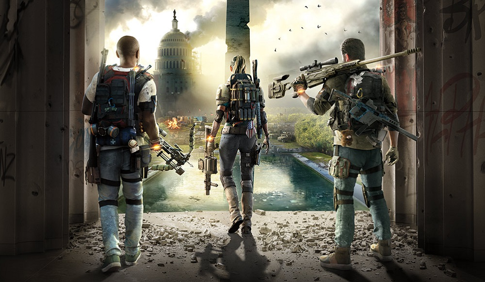 The Division 2 'open beta' casually mentioned on live stream screenshot