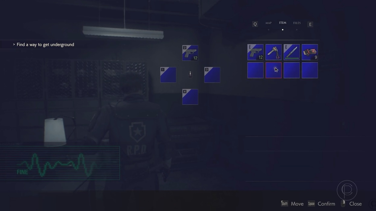Another Resident Evil 2 remake mod that brings the classic UI back? Yes please screenshot