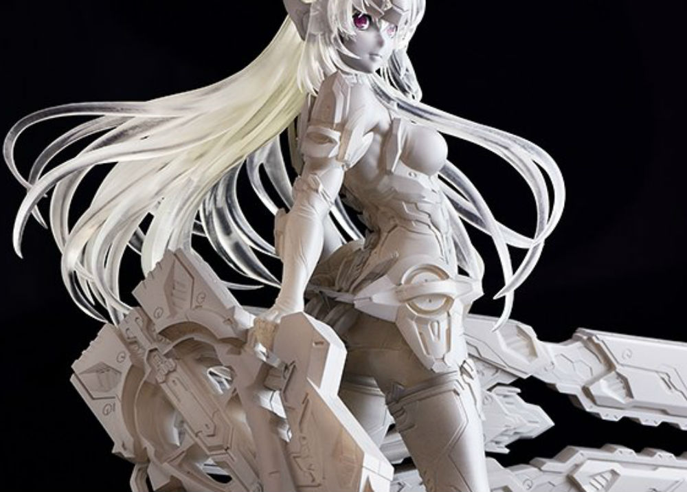 KOS-MOS from Xenosaga is getting a figure based on her appearance in Xenoblade screenshot