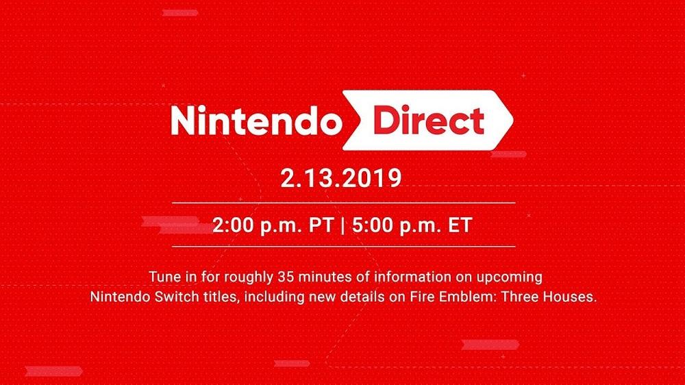 Nintendo Direct presentation will be taking place tomorrow screenshot