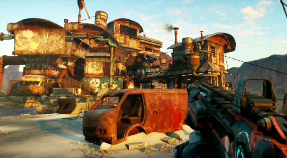 Check out ten minutes of Rage 2's bombastic gameplay right here screenshot