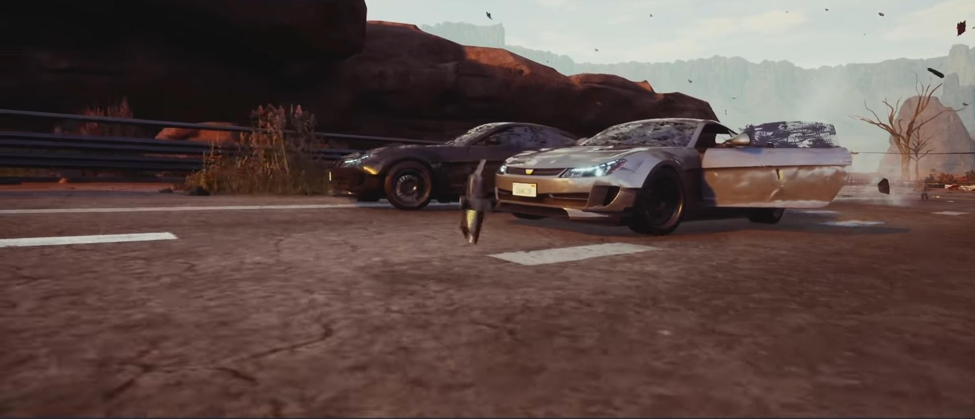 Burnout spiritual successor Dangerous Driving speeds to an April release screenshot