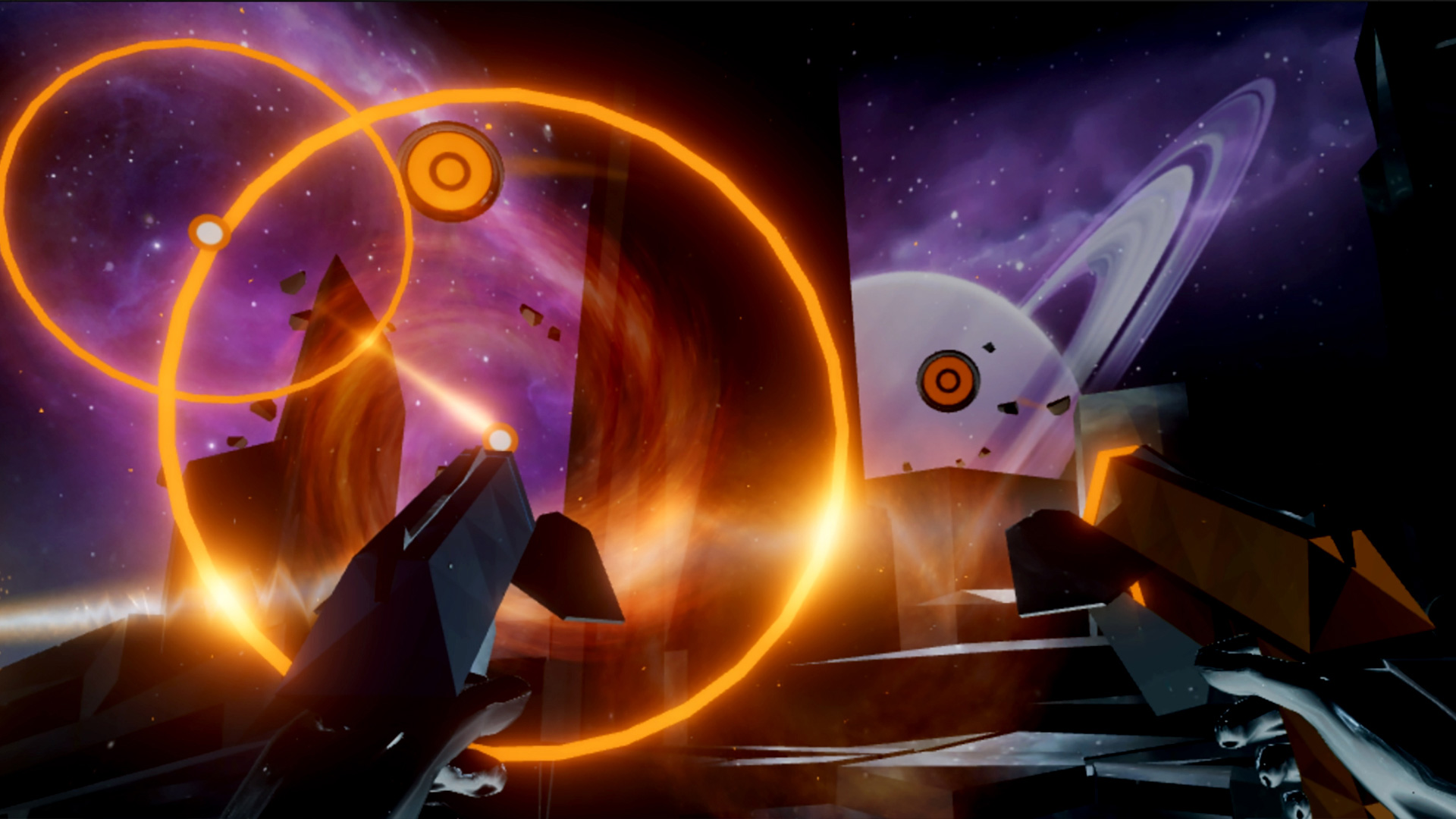 Harmonix has a potential hit on its hands with Audica screenshot