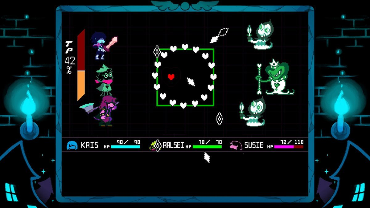 Deltarune sounds perfect on the Switch screenshot