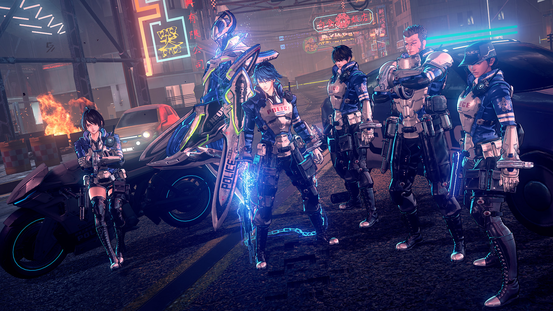 Astral Chain is a new Platinum game coming to Switch and it looks anime as hell screenshot