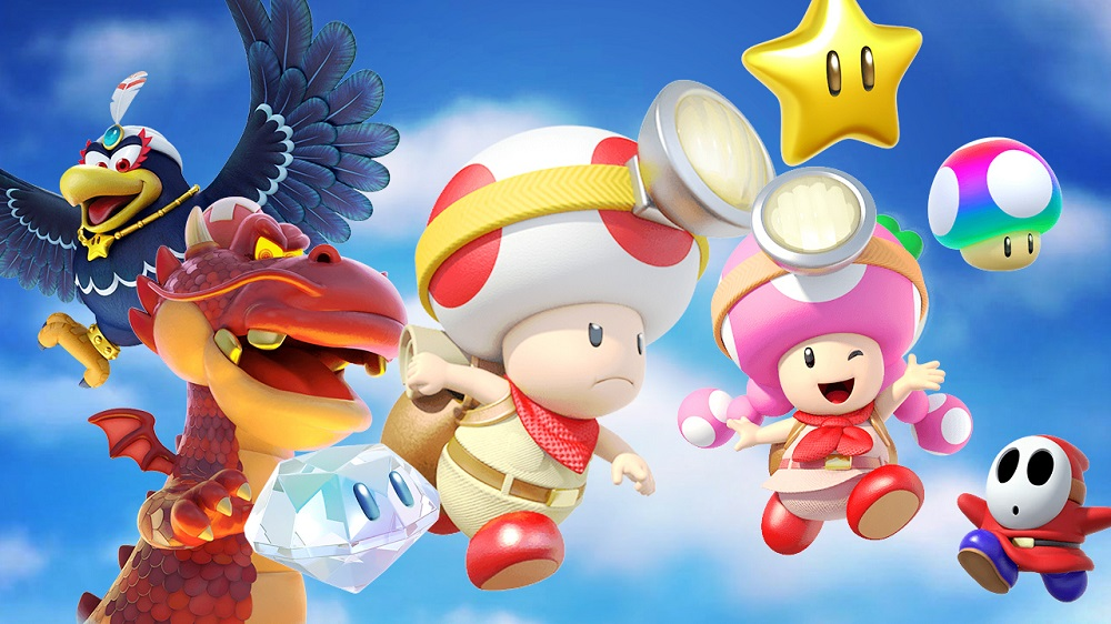 Captain Toad: Treasure Tracker gets a free co-op update today screenshot