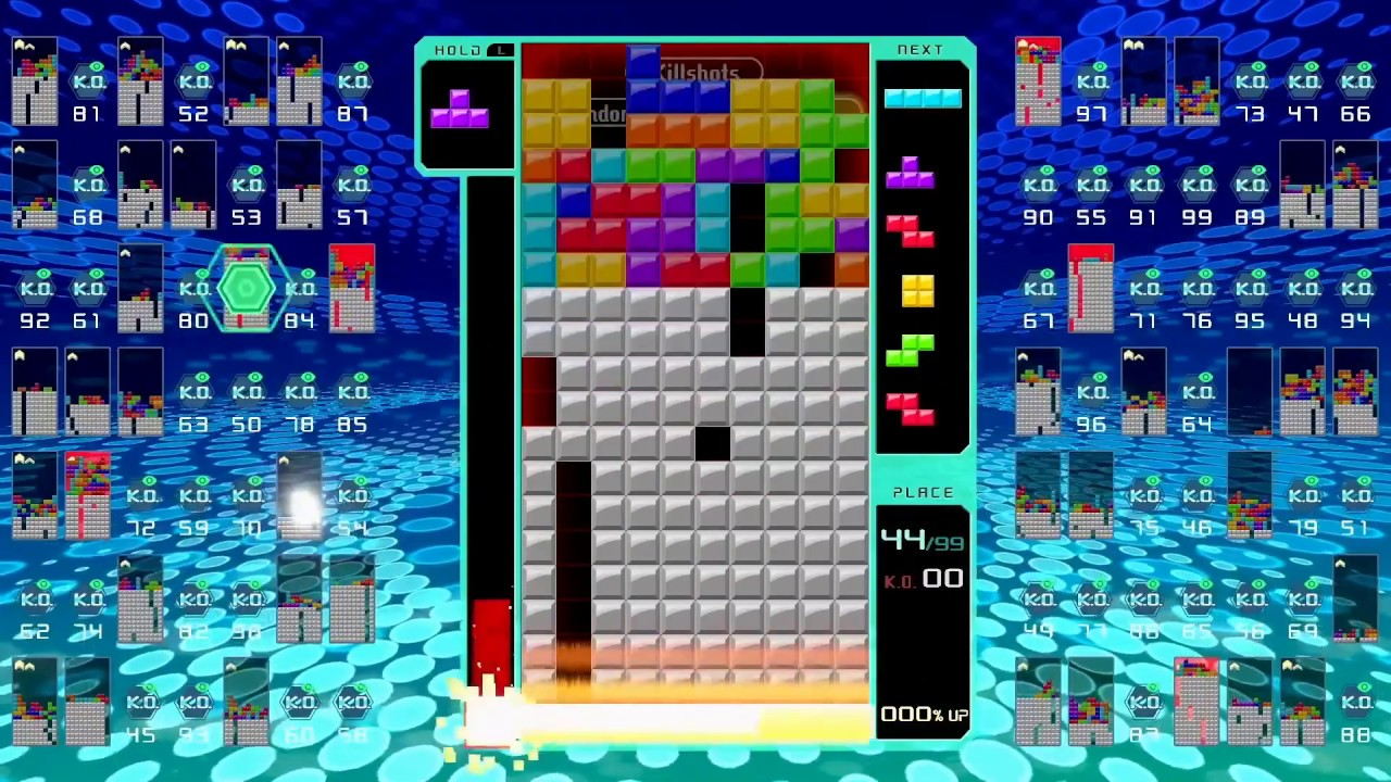 The depth of Tetris 99's mechanics do the impossible, improve a perfect game