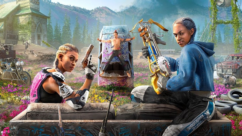 Far Cry New Dawn debuts at the top of the UK Charts, but physical sales continue to nose-dive screenshot