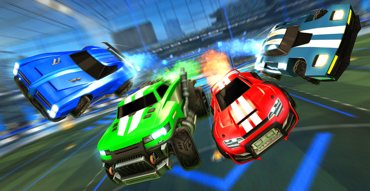 Finally, you can play with cross-platform friends in Rocket League screenshot