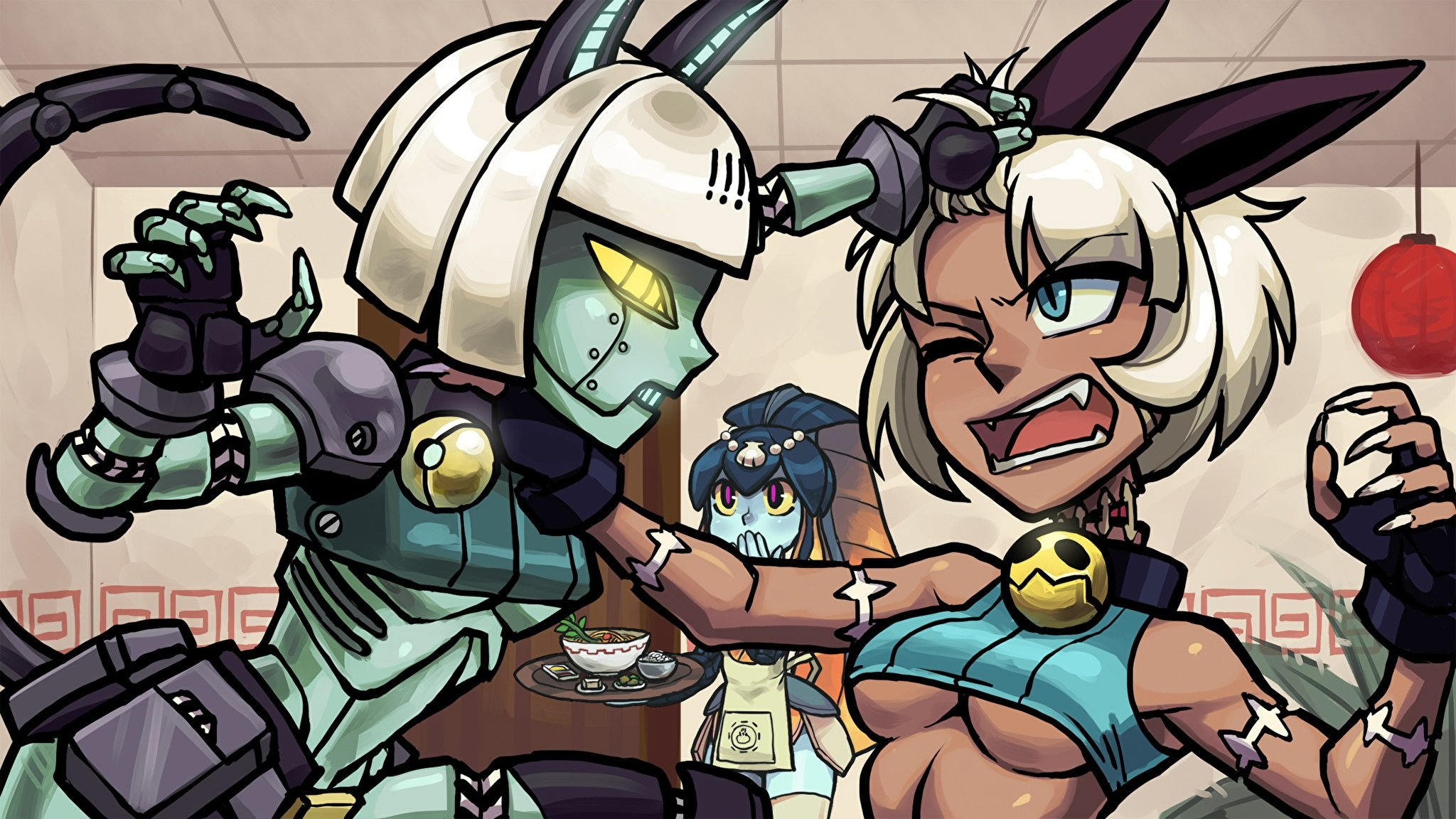 Skybound Games is bringing Skullgirls to Xbox One and Switch this Spring screenshot
