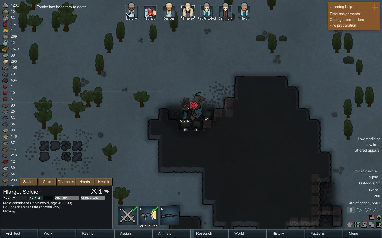 Rimworld Burn Dead Bodies